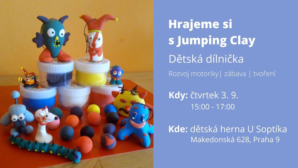 Hrajeme si s Jumping Clay