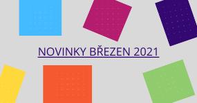 NOVINKY březen 2021