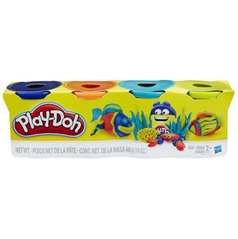 Play-Doh 4 tuby