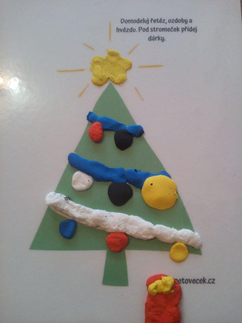 Modelovací šablona Vánoce